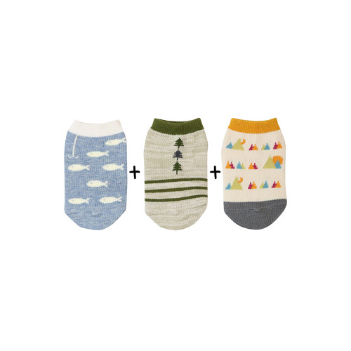 Stample Baby Socks short 3 Pairs 72143
