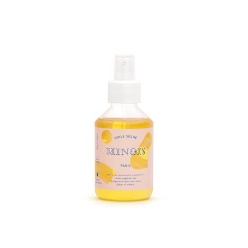 This oil nourishes, repairs and protects baby's and the whole family's skin with excellent non-greasy absorption.
