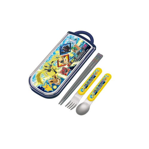 Skater Spoon Fork Set  Pokey Man