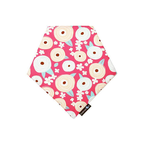 These bandana-style scarf bibs are designed to complement any outfit and will keep your baby clean in style!