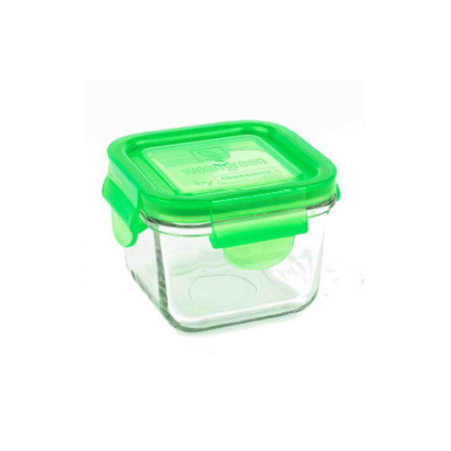 Wean Green Snack Cube Single 7oz Pea