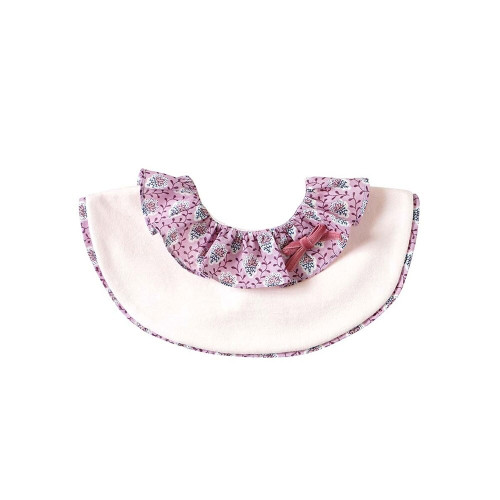 The frill of the collar spreading like a flower is a cute style.