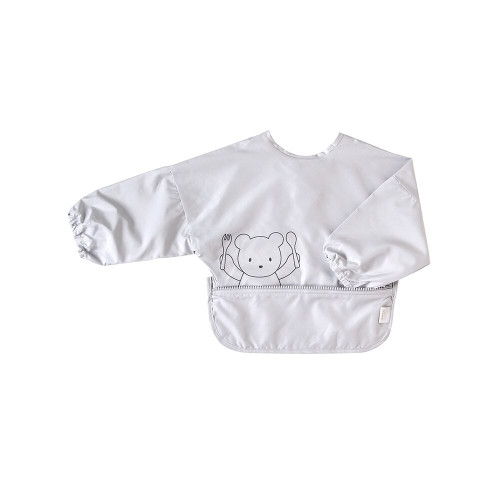 Roll around the apron and store it in the pouch! The functions of meal apron and pouch got together.