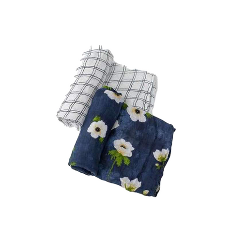Our softest swaddles, in two hand-painted prints! Silky soft to the touch, our deluxe swaddles are lightweight + breathable while being gentle on baby's skin— ideal for swaddling, nursing, cuddling and more.
