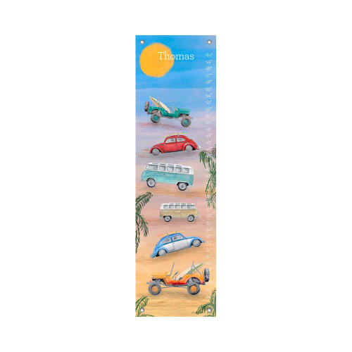 Oopsy Daisy Canvas Growth Chart Hang Loose
