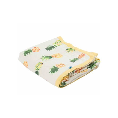 Little Unicorn Deluxe Muslin Quilt Pineapple