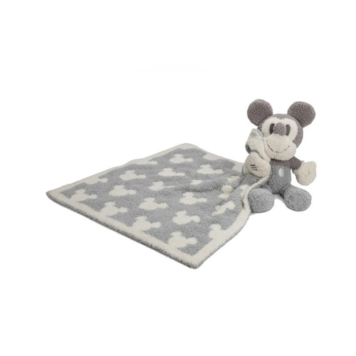 This adorable Mickey Mouse is the sweetest companion for your growing little one! With its cozy little blanket and vintage soft colors, it'll be their favorite buddie for years to come. Buddie and blanket are designed from our iconic feather-knit Cozychic fabrication.