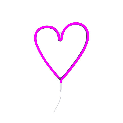 A Little Lovely Neon Light HEART/PINK