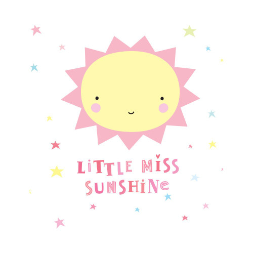 A Little Lovely Wall Stickers Miss Sunshine