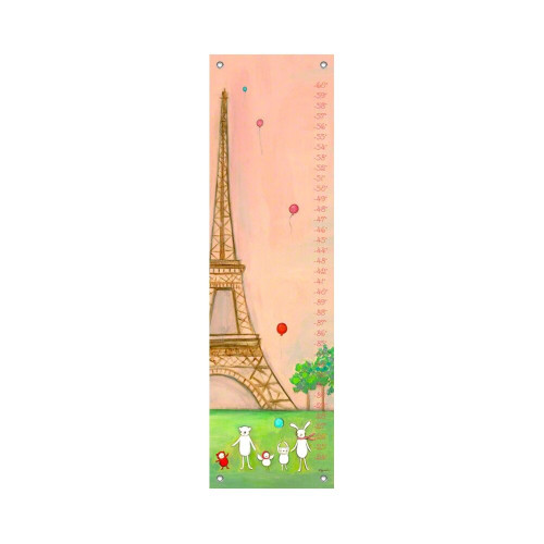 Oopsy Daisy Canvas Growth Chart We are in Paris