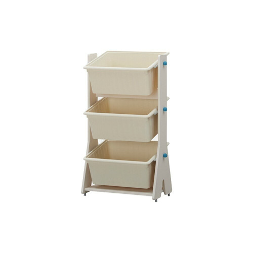 It is a tinkle-pop toy cabinet featuring a splashing color and safe curved design that stimulate children's creativity.