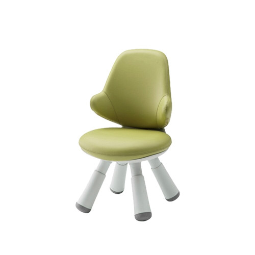 Iloom Wing Chair Artificial Leather Kids Green