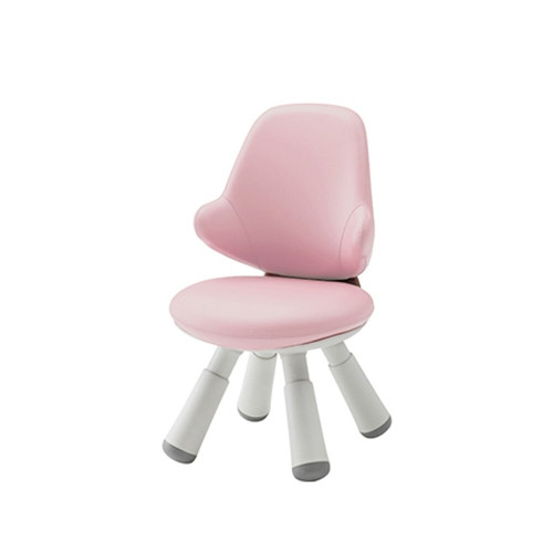 Iloom Wing Chair Artificial Leather Kids Pink