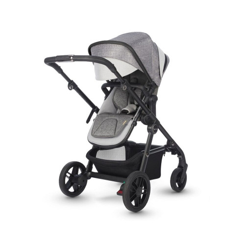 Effortlessly stylish, Coast is our lightest and most streamlined single to double stroller