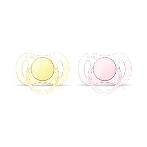 Philips Avent Pacifiers Animal 2-Pack ORANGE/PINK