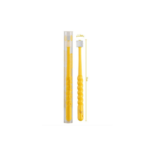 Beloved Cylinder Toothbrush Kids 2-12Y Yellow