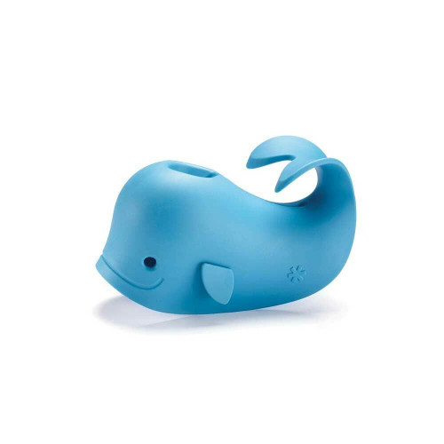 Moby and Ducky are spout covers that brighten up the bath while keeping baby's head safe from bumps.