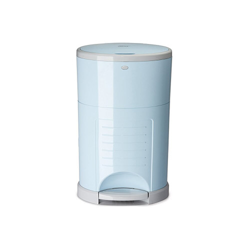 Dekor Plus Hand Free Diaper Pail Soft Blue