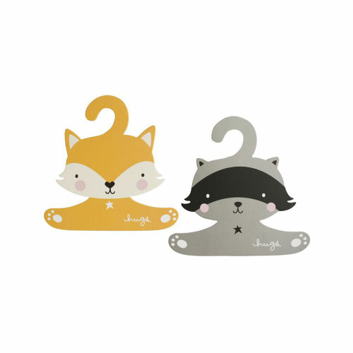 These lovely animal coat hangers are specially designed for children and babies clothes and are smaller in size than regular hangers.
