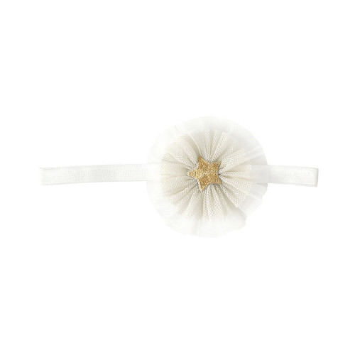 For baby hair arrangements where the hair has begun to grow. Girl's dressing item. It is an elegant design that can be used both for everyday use and formal occasions.