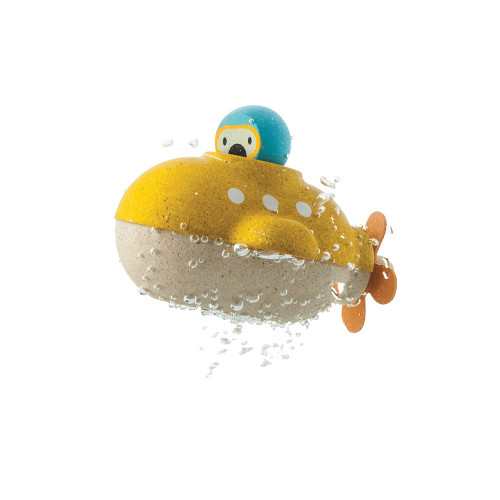 Transform bathtime into an underwater excursion with the Submarine! Children can enjoy whoosing the toy through the tub and exploring the depths of the underwater world.