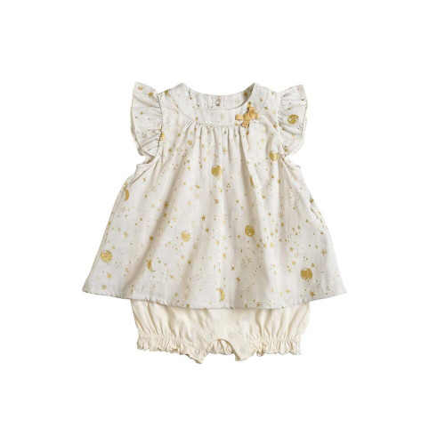 10 Mois Shot Coverall 20SS BEIGE