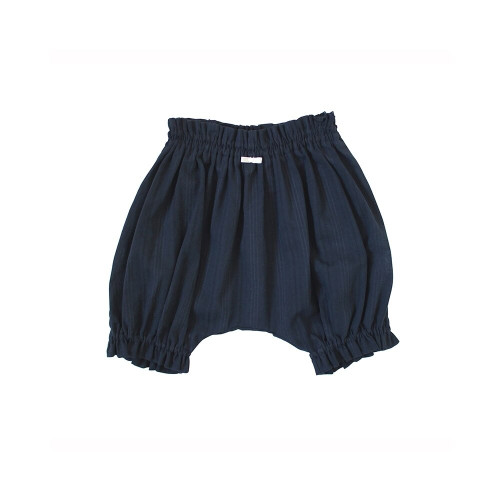Double gauze bloomers in crepe weave with impressive silhouette