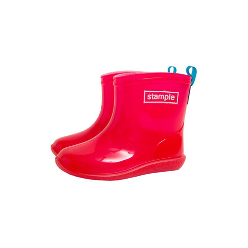 Rain boots with a cute dot pattern insole with candy-like transparency and super cute rain boots!