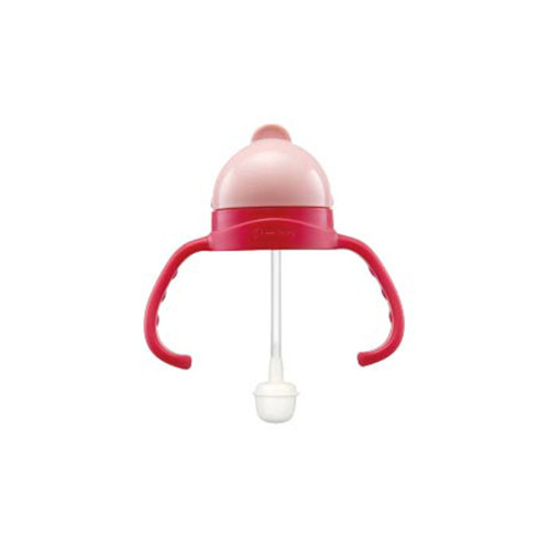 The sliding cap opens/closes the bottle cap immediately, clean and hygienic, and the non-slip handle convex point design makes it easy to grasp and not easy to slip, making learning easier.