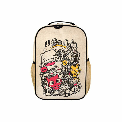 Roomy enough for the things a preschooler needs; a pair of shoes, a change of clothes, and of course, something for Show and Tell! For a perfect match, get the coordinating lunch box too!