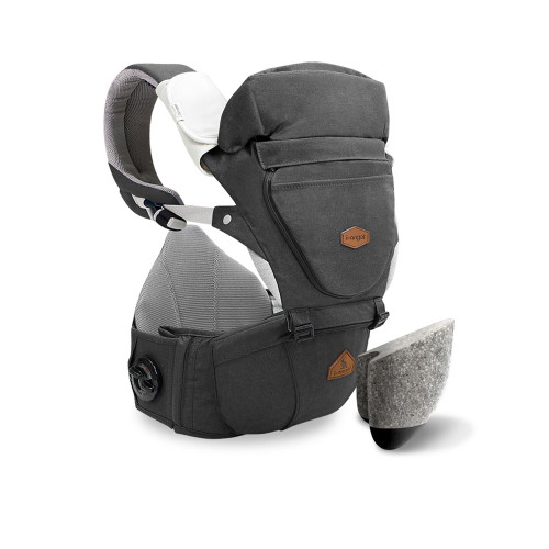 I-Angel Hipseat Dr. Dial  Charcoal