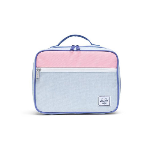 The durable Herschel Pop Quiz™ Lunch Box features a soft and insulated main snack compartment that easily wipes clean, making it the perfect cafeteria companion.