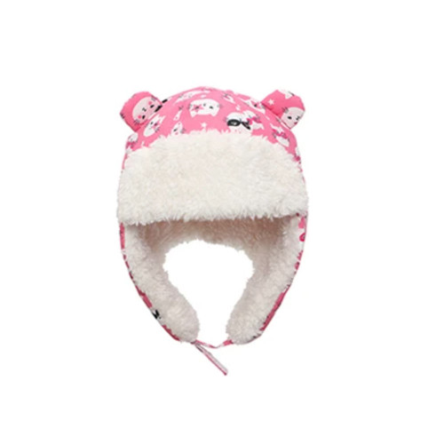 The high quality windproof and water-repellent shell combined with a soft sherpa lining and signature ear flaps offers excellent protection from the elements, ensuring your little one stays warm and dry in all their outdoor adventures.