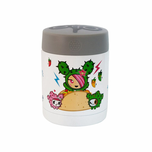 Fun meets function with our ZoLi x Tokidoki collaboration! Leave it to Mermicorno, the Moofia, and the Cactus Friends to keep your food at the perfect temperature. Wide, easy-open top makes meal time a breeze.