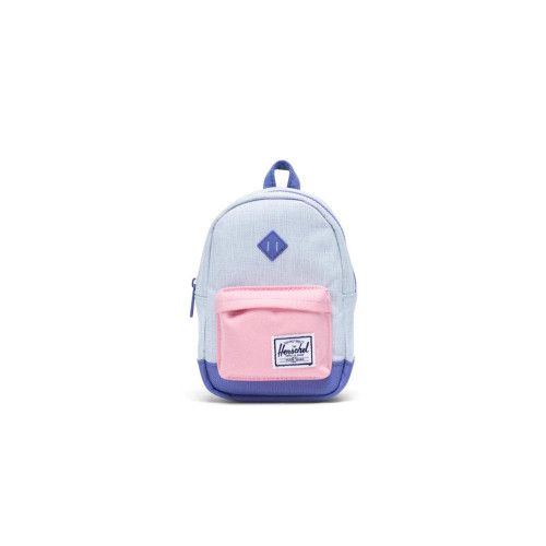 Designed for holding smaller everyday items, the adorable Heritage Case transforms a timeless backpack design into a fun and playful accessory.