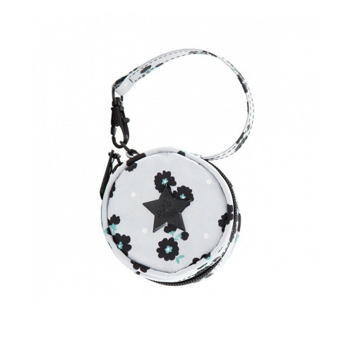 The Ju-Ju-Be Legacy Collection Paci Pod Pacifier Holder is a functional case that holds (2) paci's close to you with a wrist strap and swivel hook.