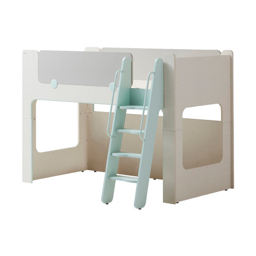 Iloom Bunk Bed With Stairs Mint