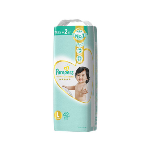 Pampers Best for the First Skin  Super Diaper L 42pc (9-14kg)