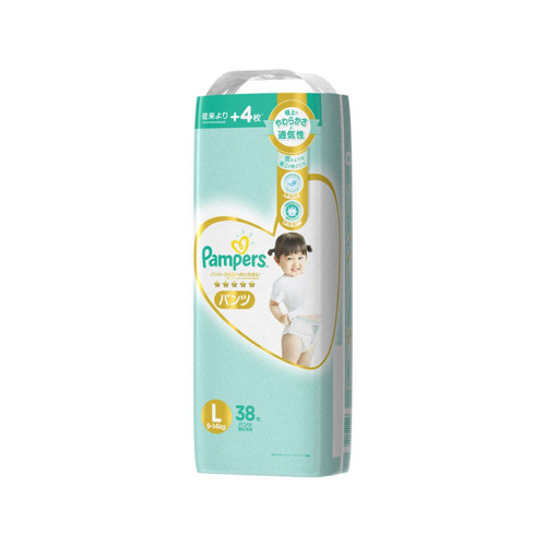 Pampers The best pants for the skin Super Training Pants L 38pc (9-14kg)