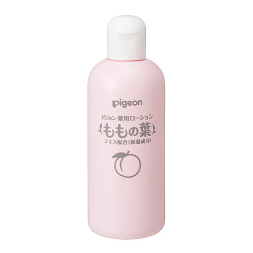 A medicated lotion containing a moisturizing ingredient, thigh leaf extract. It can be used by babies from around 0 months of age.