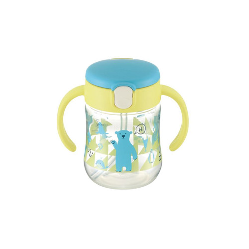 Richell Straw Cup 200ML Yellow