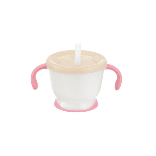 Richell Training Cup 150ML Straw Pink