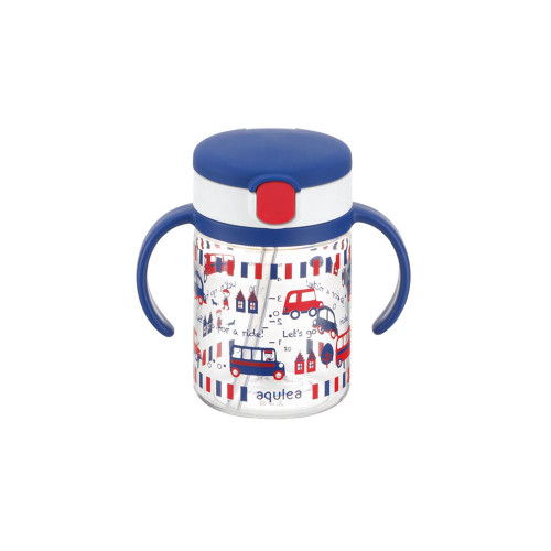 Richell Baby Straw Cup 200ML Blue