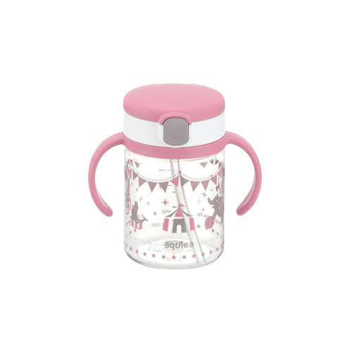 Richell Baby Straw Cup 200ML Pink