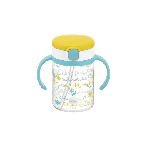 Richell Baby Straw Cup 200ML Yellow