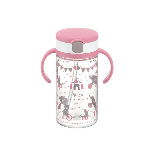 Richell Baby Straw Cup 320ML Pink