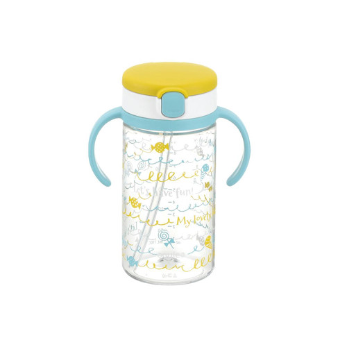 Richell Baby Straw Cup 320ML Yellow