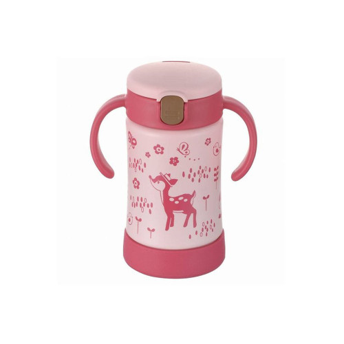 Richell Thermos Bottle Pink