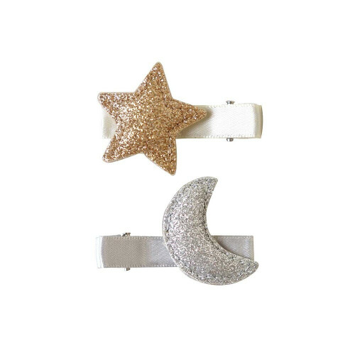 10mois hair accesary  Gold and Silver