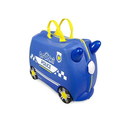 Trunki was created to beat the boredom so often suffered by travelling tots. Designed to be used as hand luggage, kids can pack Trunki with all their favourite belongings whilst parents keep them in tow. It's made from the same lightweight yet durable plastic as adult suitcases, and we test it to the extremes to make sure it can take all the wear and tear an excited 3year old can throw at it.
